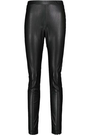 Max Mara Ranghi high-rise faux leather leggings