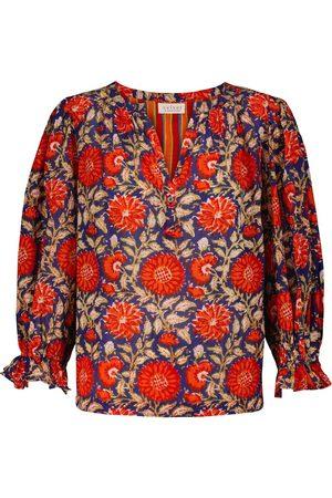 Velvet Millie floral cotton top