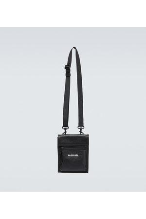 Balenciaga Explorer leather pouch