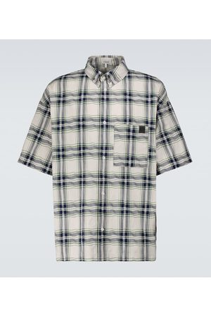 Loewe Short-sleeved patchwork shirt