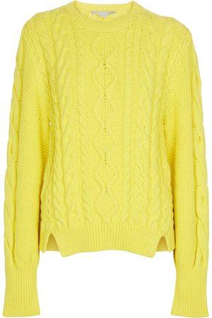 Stella McCartney Cotton-blend aran sweater