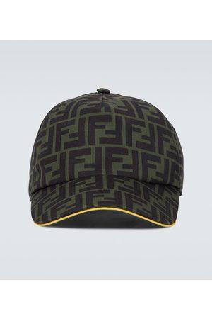 Fendi FF canvas baseball cap