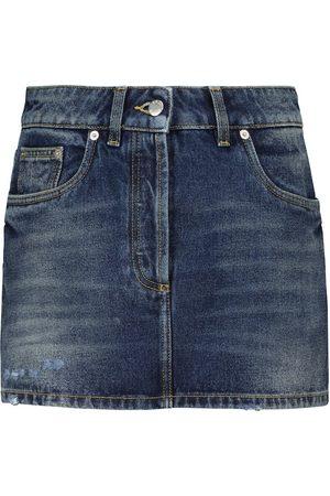 Prada Denim miniskirt