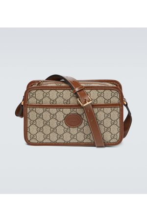 Gucci Herre Skuldervesker - GG Supreme canvas mini-bag