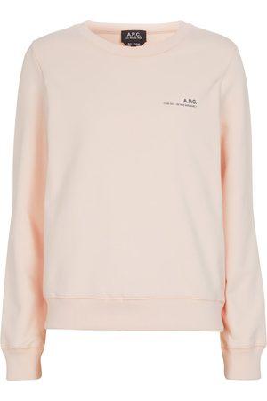 A.P.C. Item stretch-cotton sweatshirt