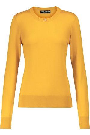 Dolce & Gabbana Embellished silk sweater