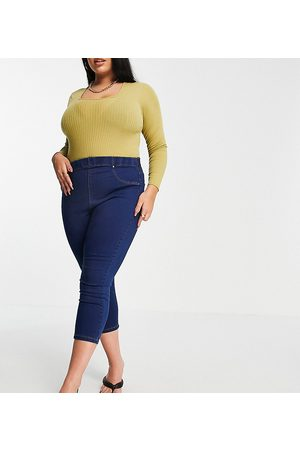 Yours Dame Jeggings - Cropped jeggings in indigo-Blue