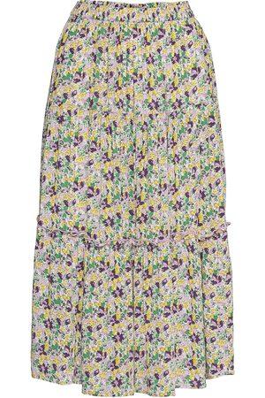 Lollys Laundry Morning Skirt Knelangt Skjørt Multi/mønstret
