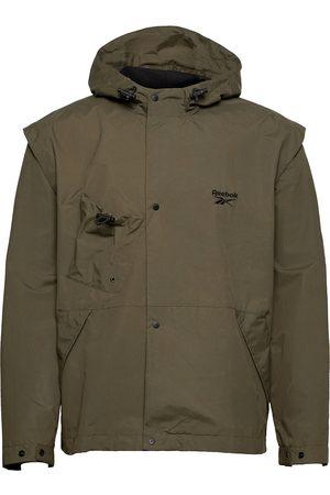 Reebok Cl Camping Jacket Outerwear Sport Jackets Grønn