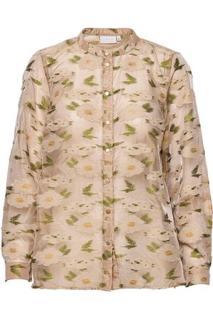 Coster Copenhagen Shirt Jacket In Light Jaquard Bluse Langermet