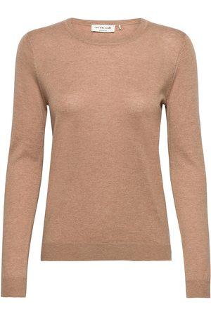 Rosemunde Dame Strikkegensere - Pullover Ls Strikket Genser