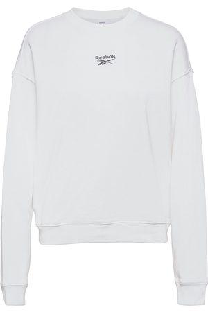 Reebok Classics Dame Sweatshirts - Cl Pf Small Logo Crew Sweat-shirt Genser