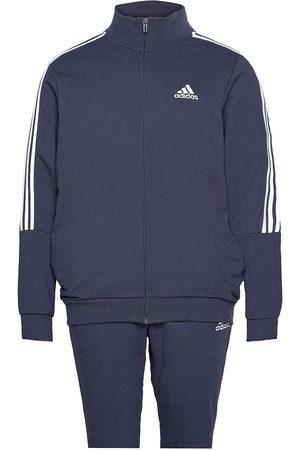 adidas Performance Aeroready Essentials 3-Stripes Track Suit Sweat-shirts & Hoodies Tracksuits - SETS Blå