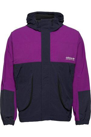 adidas Herre Turjakker - Adventure Traverse Windbreaker Outerwear Sport Jackets Blå