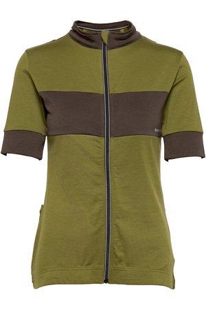 Supernatural W Grava Jersey T-shirts & Tops Short-sleeved Brun