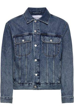 Calvin Klein Herre Denimjakker - Regular Denim Jacket Dongerijakke Denimjakke Blå