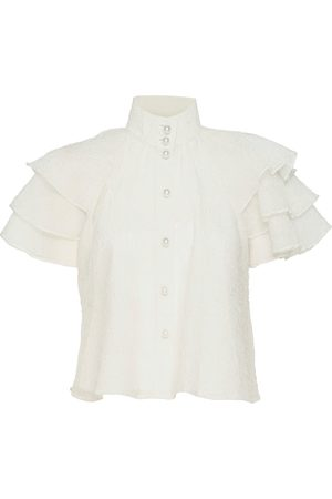 Custommade Obia Blouses Short-sleeved