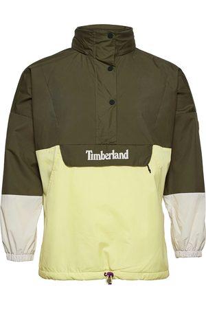 Timberland Mix Media Anorak Outerwear Jackets Anoraks Gul