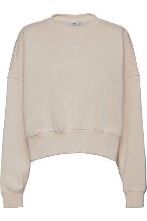 adidas Adicolor Essentials Fleece Sweatshirt W Sweat-shirt Genser Rosa