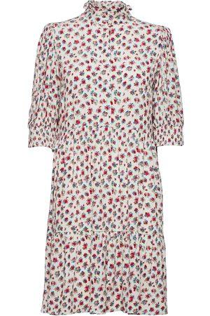 Notes Du Nord Violet Short Dress Dresses Everyday Dresses Rosa