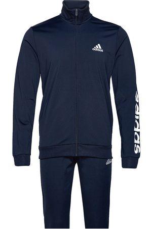 adidas Primegreen Essentials Linear Logo Track Suit Sweat-shirts & Hoodies Tracksuits - SETS Blå