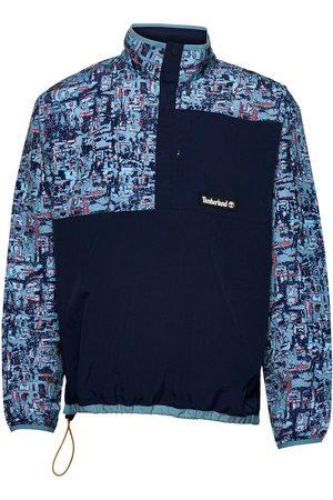 Timberland Yc Stipple Aop Anorak Outerwear Jackets Anoraks Blå