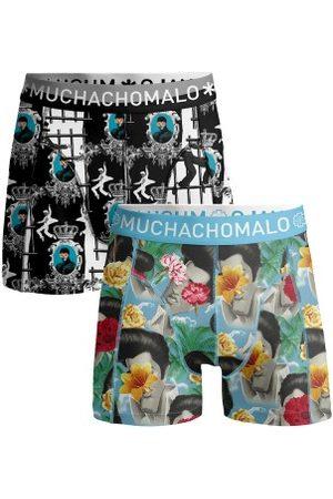 Muchachomalo Herre Underbukser - 2-pakning Cotton Stretch Elvis the King of Rock