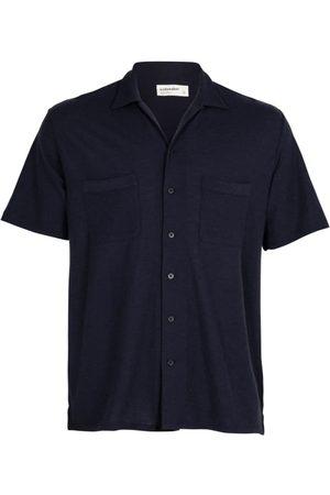 Icebreaker Men's 180 Pique Open Collar Shirt