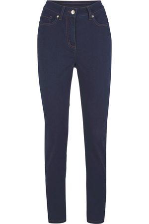 bonprix Mega Stretch-Jeans, med behagelig linning