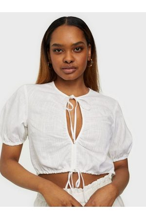 NLY Dame Bluser - Front Tie Blouse
