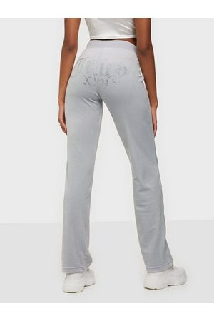 Juicy Couture Dame Joggebukser - Numeral Del Ray Pants Grey