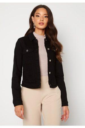 Happy Holly Elina denim jacket Black 40