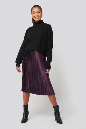 NA-KD Trend Dame Foldeskjørt - Shiny Pleated Skirt