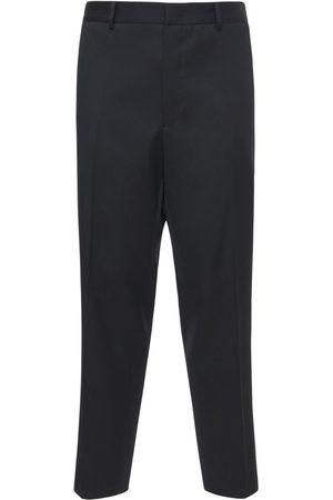 Jil Sander Herre Chinos - Light Wool Gabardine Pants