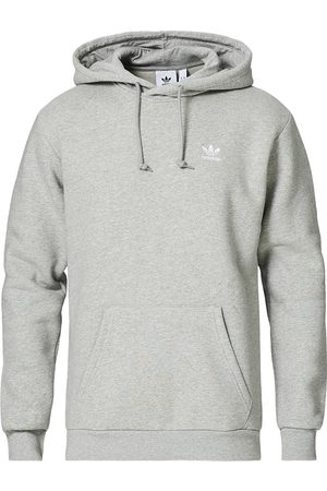 adidas Essential Trefoil Hoodie Grey Melange