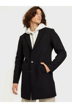 Jack & Jones Jjemoulder Wool Coat Sts Jakker Black