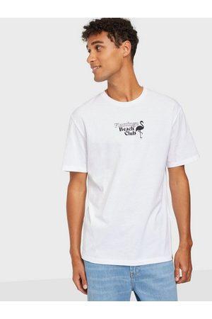 JACK & JONES Jorpoolboy Tee Ss Crew Neck T-skjorter og singleter White Relaxed