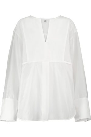 Totême Cotton and silk top
