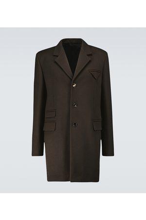 Bottega Veneta Herre Ullkåper - Single-breasted wool coat