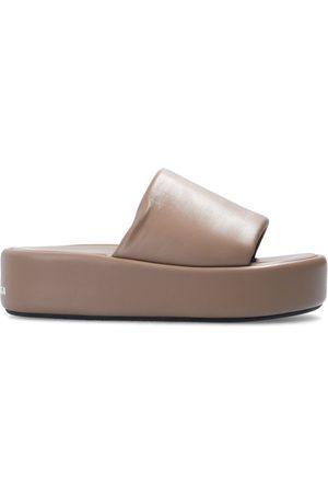 Balenciaga Rise leather slides