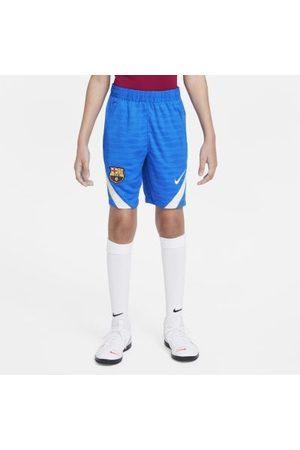 Nike FC Barcelona Strike fotballshorts til store barn