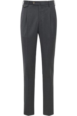 Pantaloni Torino Herre Chinos - Light Stretch Wool Flannel Pants