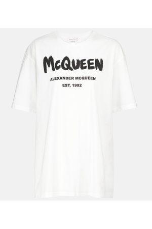 Alexander McQueen Logo cotton jersey T-shirt