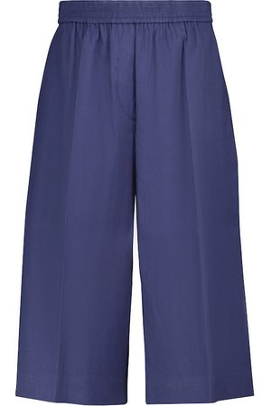Joseph Dame Bermudashorts - Tan linen and cotton Bermuda shorts