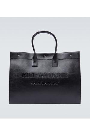 Saint Laurent Rive Gauche leather tote bag