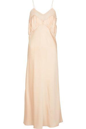 Jil Sander Dame Bodycon kjoler - Silk-blend slip dress