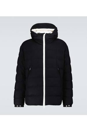 Moncler Vabb wool and down jacket