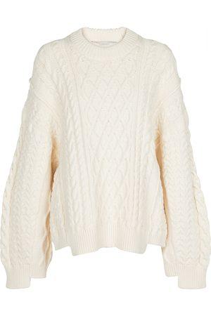 Stella McCartney Aran-knit cotton-blend sweater