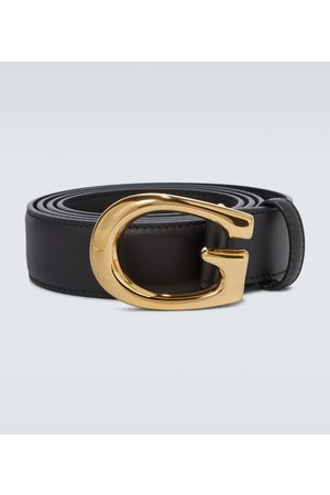 Gucci Thin G buckle leather belt