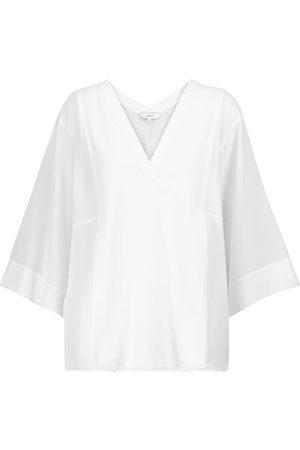 Vince V-neck cotton top